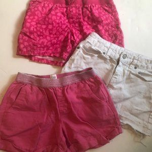 Girls lot of size 8 skirts and shorts